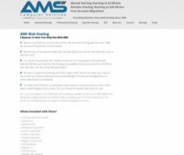 AMS Computer Services Hosting
