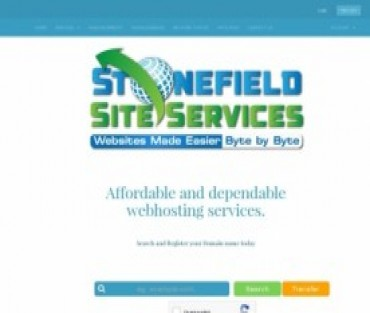 Stonefield Site Services Hosting