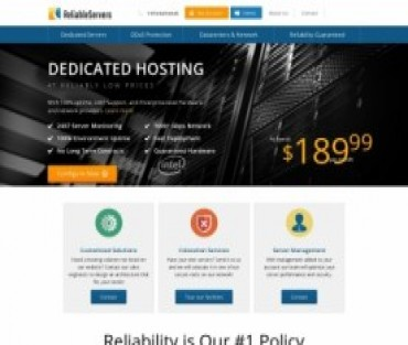 Reliable Servers Hosting