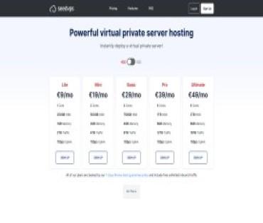 SeedVPS Hosting