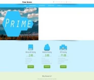 Prime Servers Inc Hosting