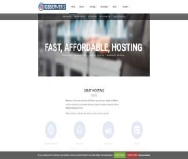 GBServers Ltd Hosting