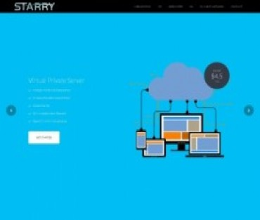 Starry DNS Hosting