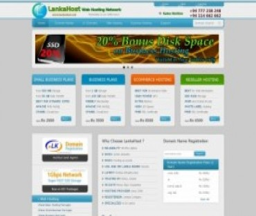 LankaHost Web Hosting Network