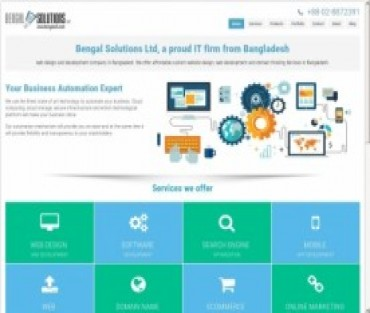 Bengal Solutions Ltd  Hosting