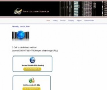 Point Action Services Hosting